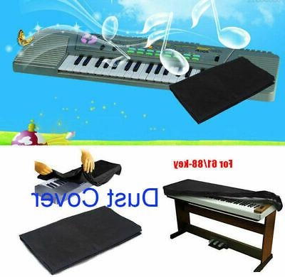 piano keyboard dust cover with drawstring protective