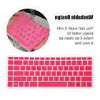FORITO Pink Silicone Laptop Keyboard Cover Skin For HP 14 In