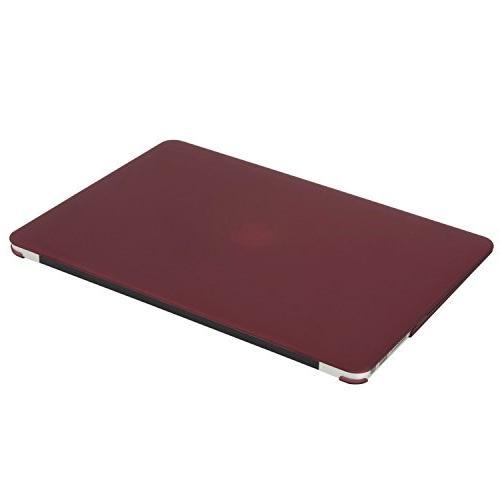 MOSISO Plastic Hard & Screen Protector Compatible MacBook Air , Marsala
