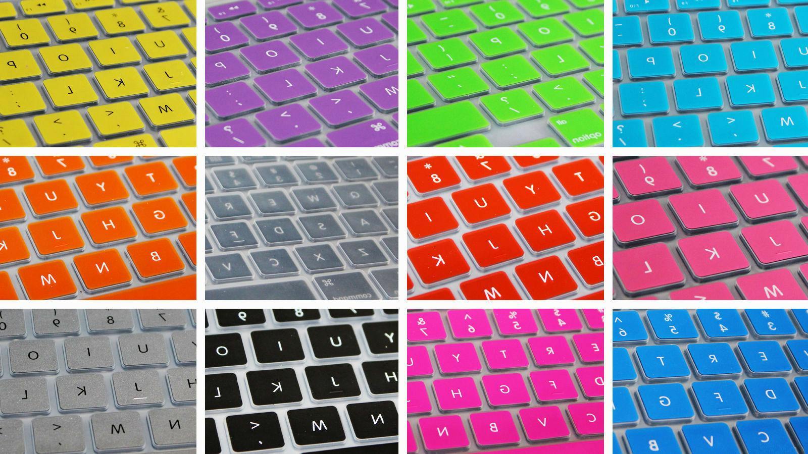 Plastic Hard Case for Macbook + Keyboard Skin Screen
