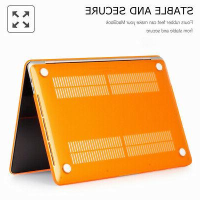 Plastic Hard Cover For 2018 Macbook with/out Bar