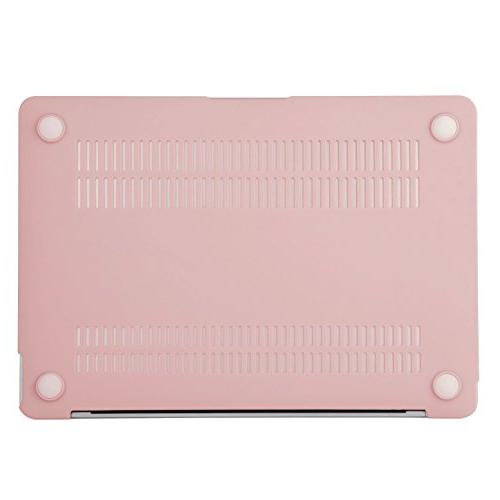 MOSISO Case & Cover Compatible inch Retina Display , Rose