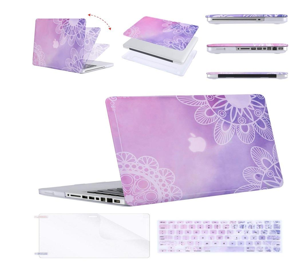 Plastic Pattern Hard Case and Keyboard Cover MOSISO for Old