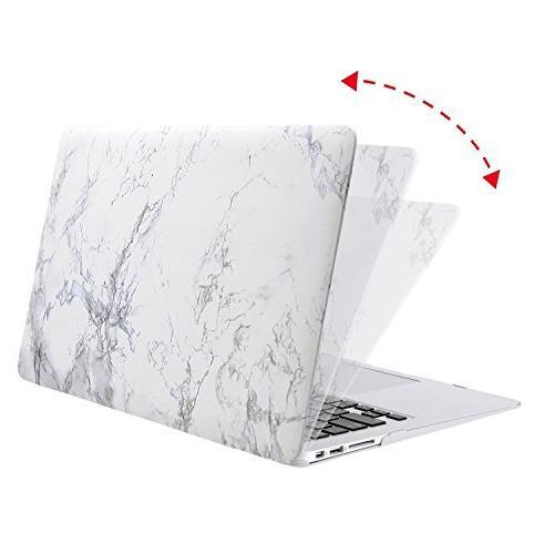 MOSISO MacBook Air Inch , Pattern Keyboard Protector Air 13 , Marble