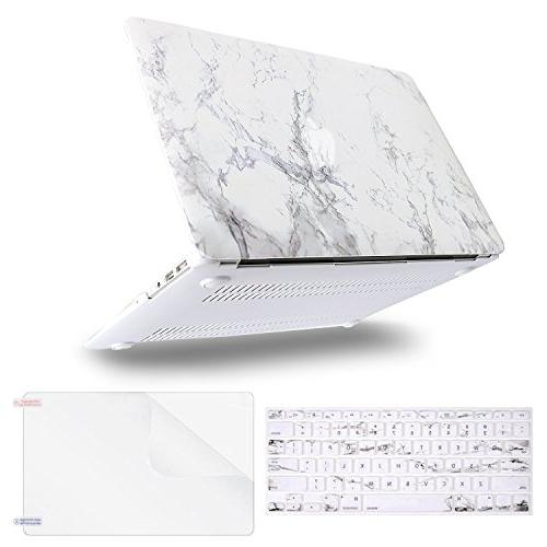 MOSISO MacBook Inch , Pattern Hard Case Keyboard Cover Protector Air 13 Marble