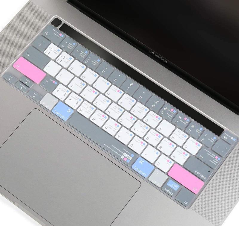 CaseBuy Premium MacBook Shortcuts Keyboard Cover Skin with M