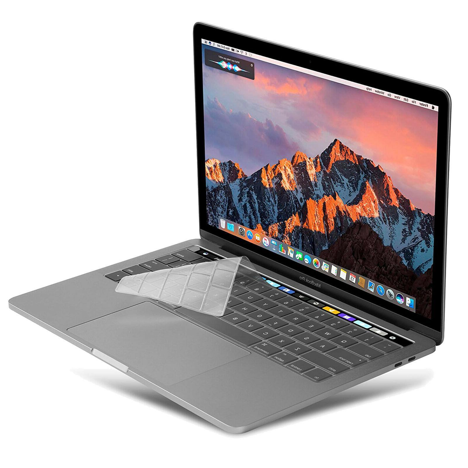 Waterproof Clear Silicone Keyboard Cover Skin F 2016 Macbook