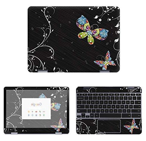 protective decal butterfly skin sticker for samsung