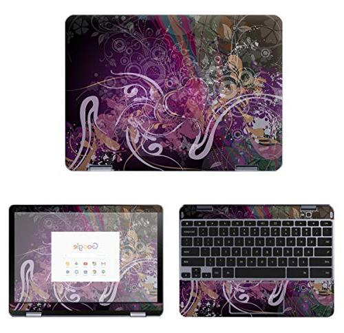 protective decal skin sticker for samsung chromebook