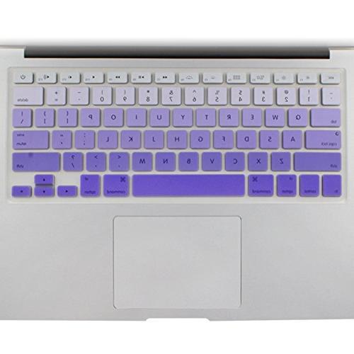 purple ombre keyboard skin