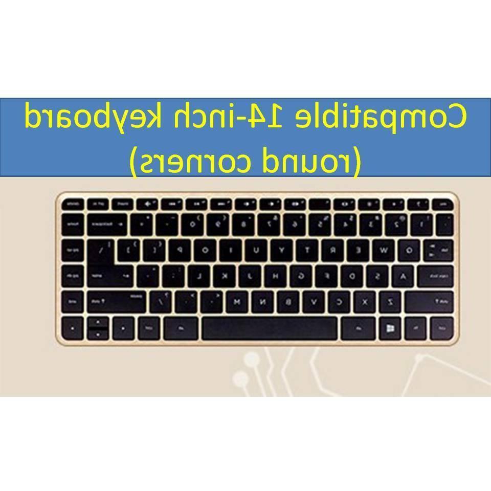 Rainbow Keyboard Case Silicone for Pavilion Stream Laptop