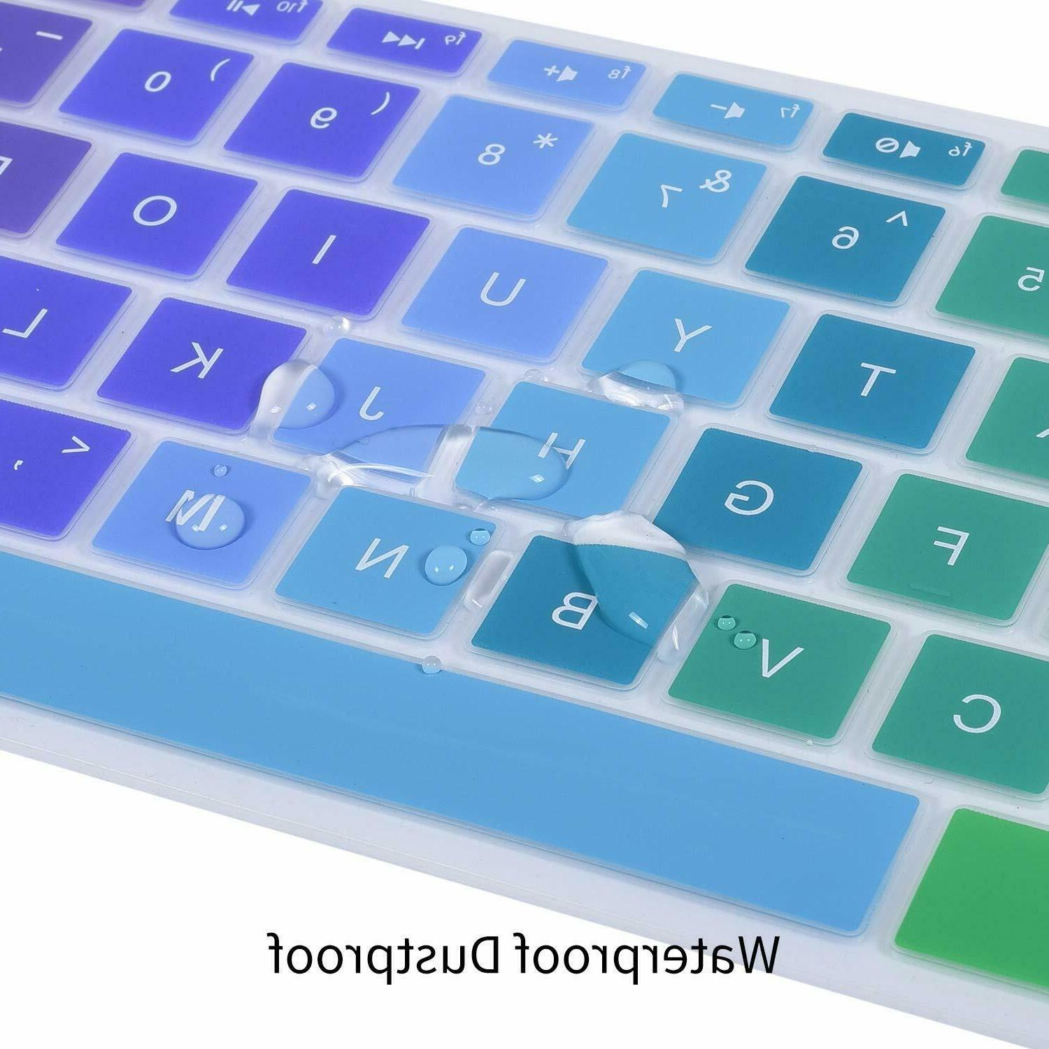 Rainbow Keyboard Case Silicone for Laptop