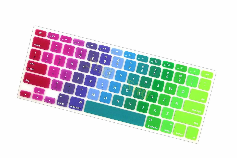 Rainbow Macbook Soft Silicone 2015 Older Dhz