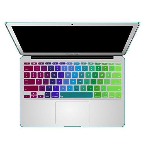 rainbow series thin silicone keyboard