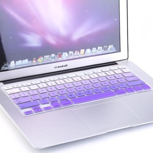 "Rainbow Keyboard Cover iMac Macbook Pro 15"""