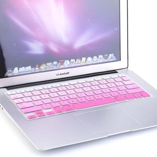 "Rainbow Keyboard Cover Skin Protector for iMac Macbook 15"""