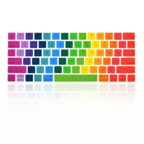 Rainbow Silicone keyboard Cover MLA22LL/A