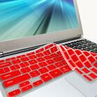 red keyboard cover skin for samsung arm