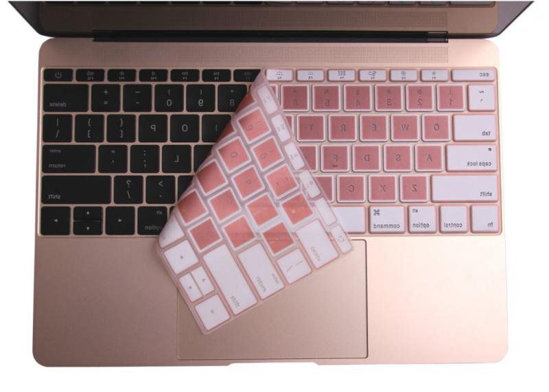 Rose Keyboard Cover for 2017 2016 Release 13 Inch Wi