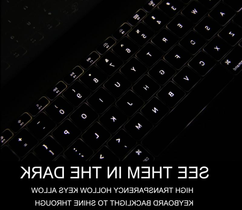 Rose Gold Keyboard Cover for 2018 2017 Release 13 Inch Wi