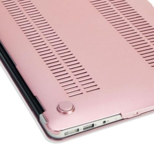 "Rose Gold Metallic Hard Case Shell Macbook Air Pro 11 15"""