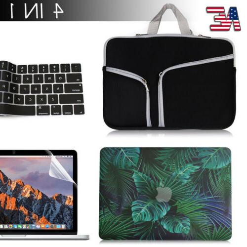 Rubberiezed Case+Carry Bag+Keyboard Cover + LCD for Macbook