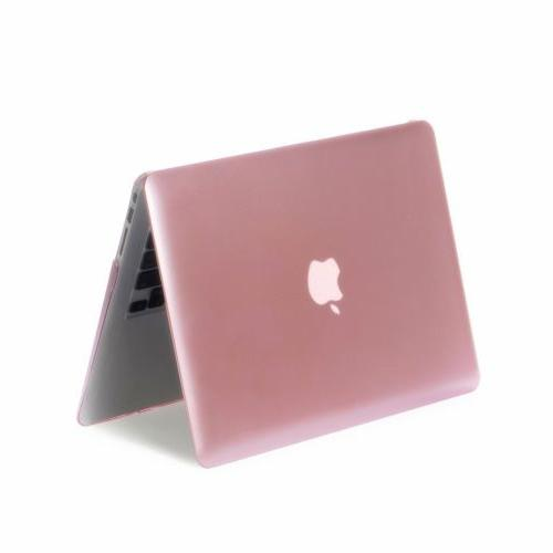 Rose Gold Metallic Case Shell Macbook Air 11 12