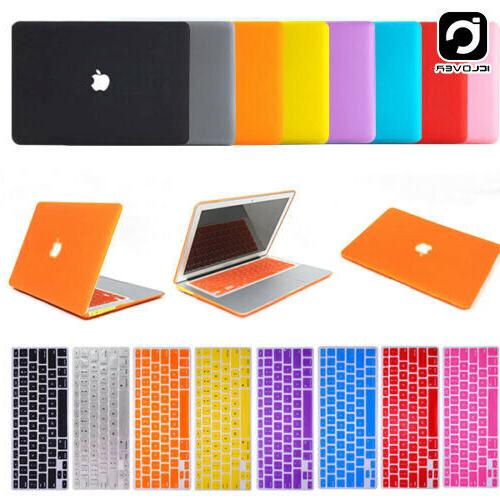 Rubberized Hard Case+Keyboard Cover+LCD Film For Apple Mac B
