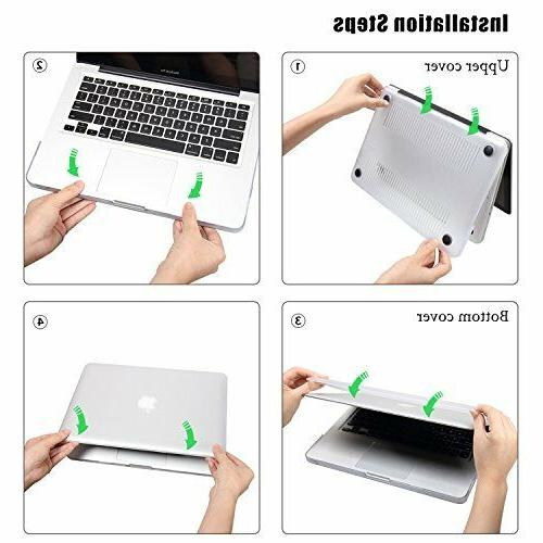 Rubberized Plastic Case with Keyboard Retina