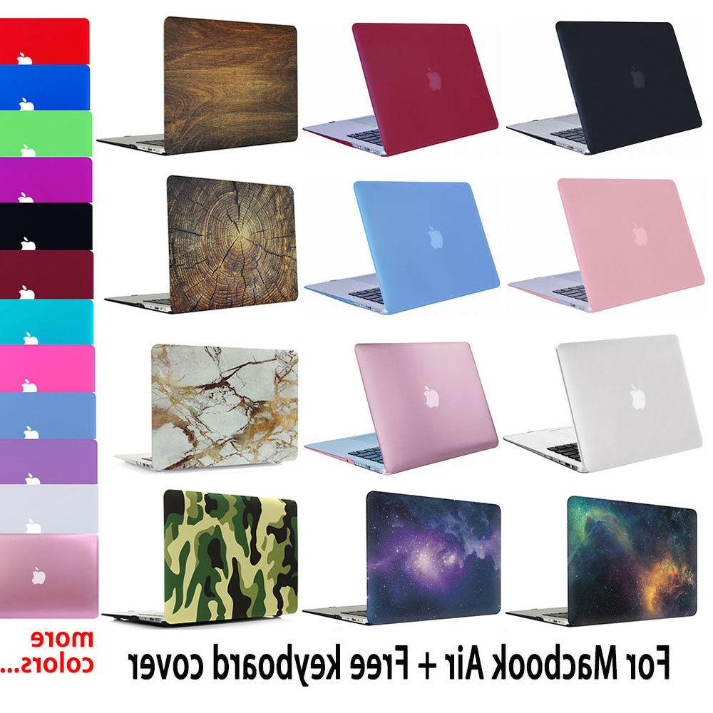 rubberized shell case cover for macbook air