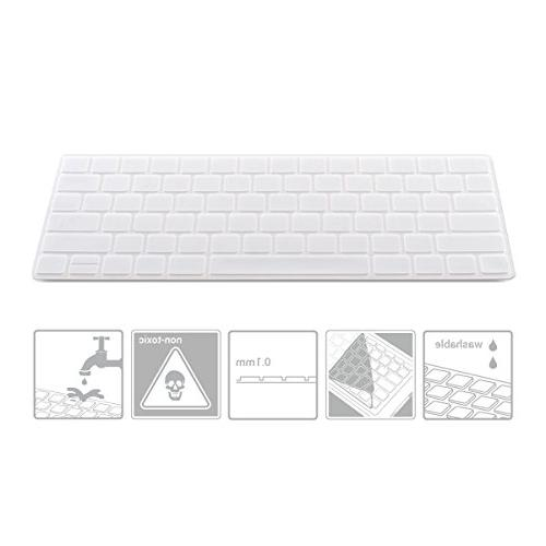 kwmobile Rugged, Keyboard Protector Apple Keyboard in Transparent from