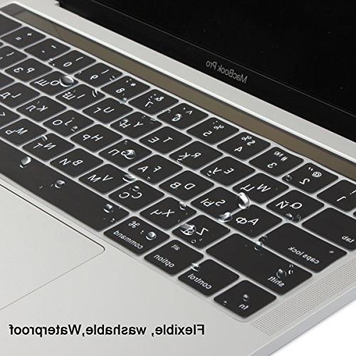 Batianda Russian Cover Skin Apple MacBook 15 inch 2016 Waterproof Silicone