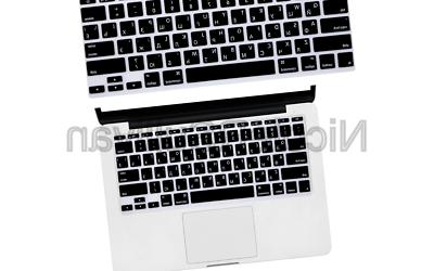russian letter keyboard cover protector for macbook