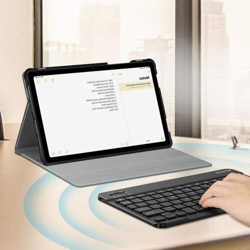 For Galaxy Tab A7 10.4 Case Keyboard