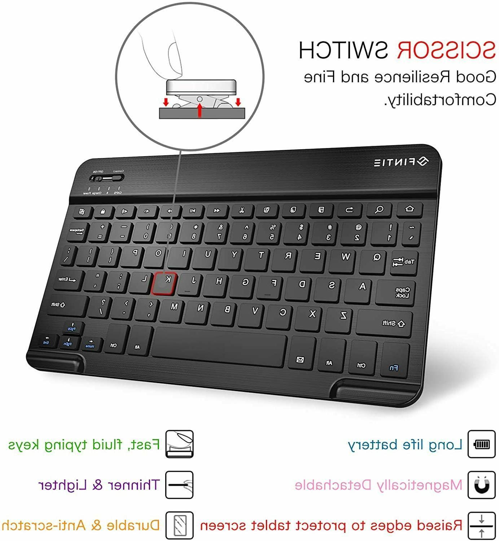 For Galaxy A7 2020 Case Keyboard