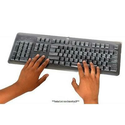Viziflex Seel Cover for Keyboard Plastic to