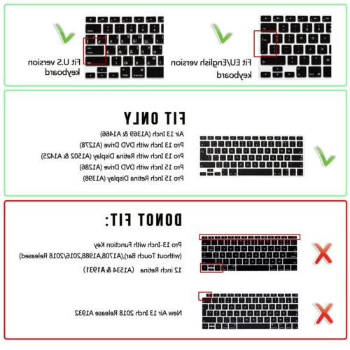 Serato DJ Hotkey Silicone Keyboard Protector For Macbook pro air13 15