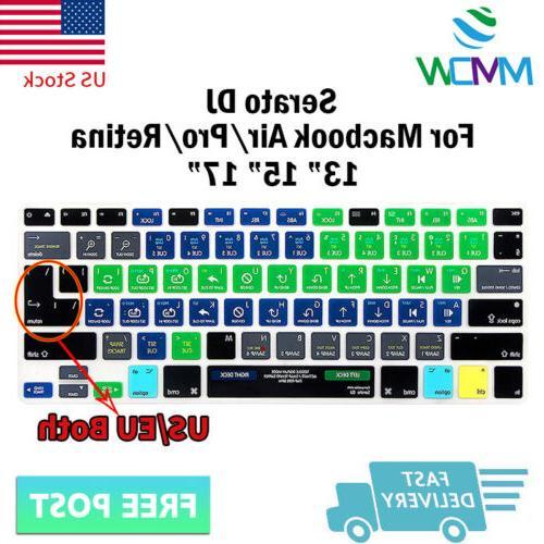 serato dj hotkey silicone keyboard protector cover