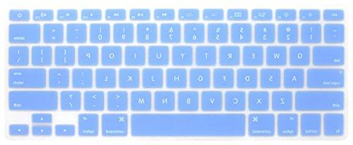 serenity blue keyboard cover silicone