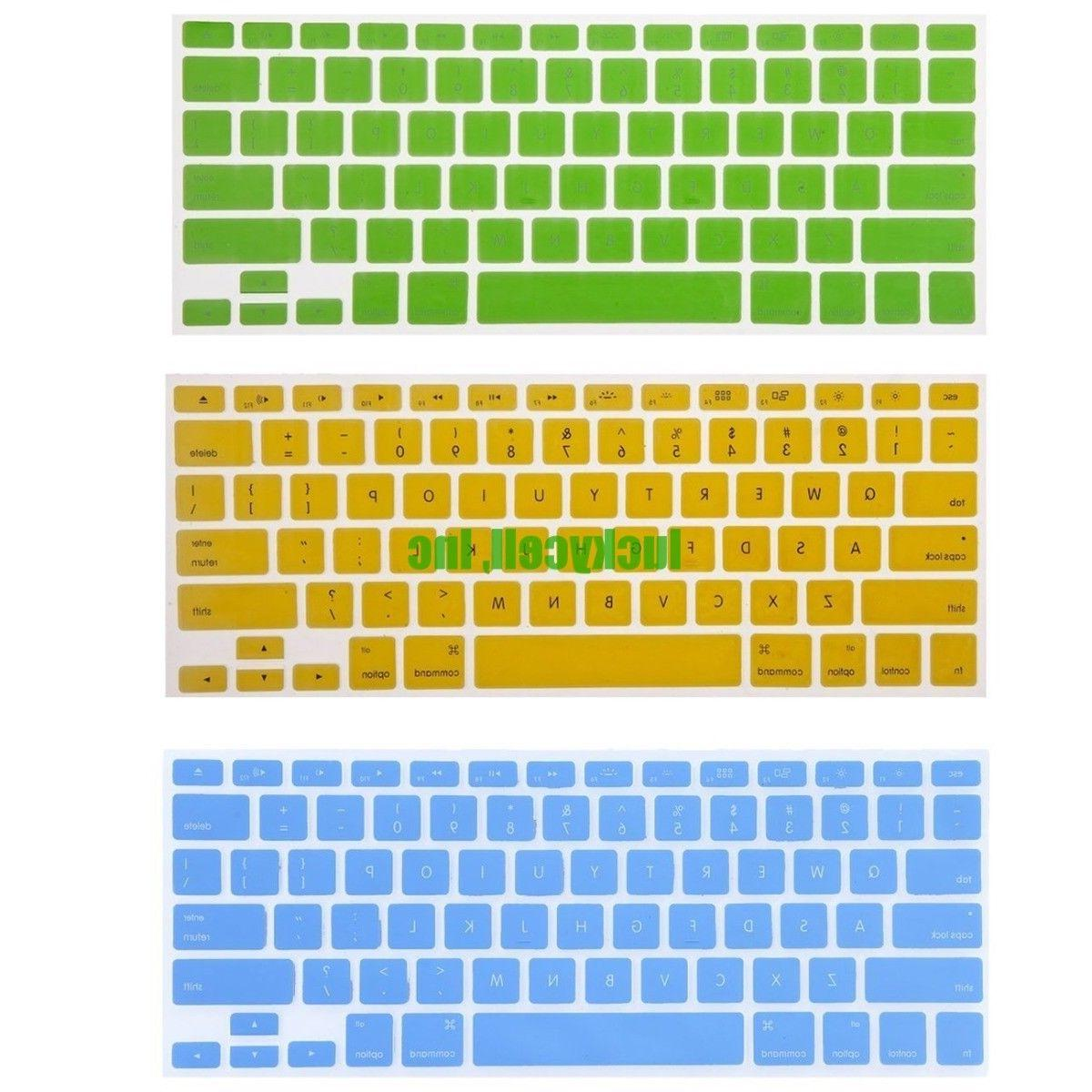 Silicone Keyboard Cover For Pro 15