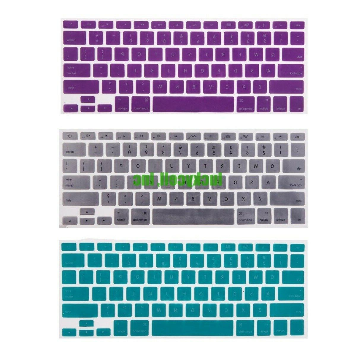 Silicone Colorful Skin Cover Pro Retina 11 15 Inch
