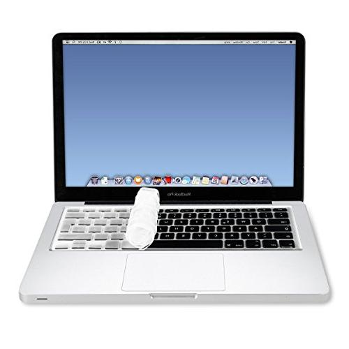 "kwmobile Keyboard Cover Apple MacBook Pro 15"" iMac - QWERTZ Keyboard Skin - Transparent"