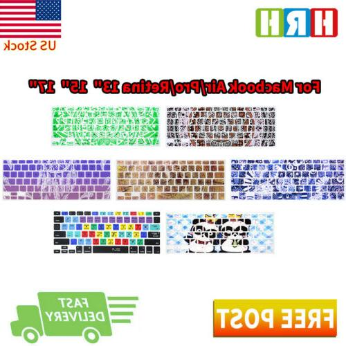 Silicone Decal Keyboard Cover Keypad Skin Protector For Macb