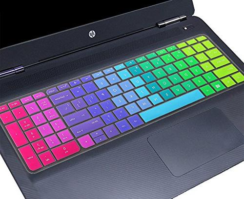 silicone keyboard colorful protector cover