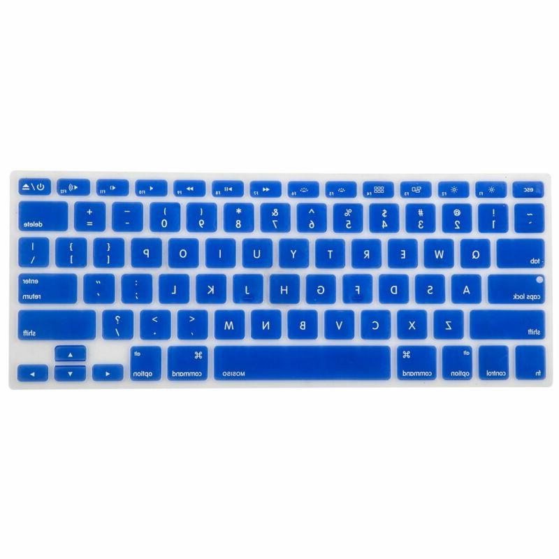 silicone keyboard cover compatible macbook pro 13