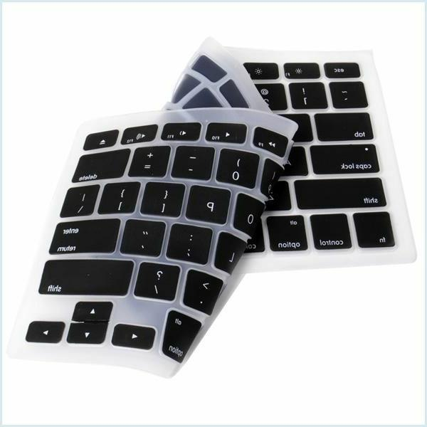 "Silicone Keyboard Cover for Apple 15"" iMac"