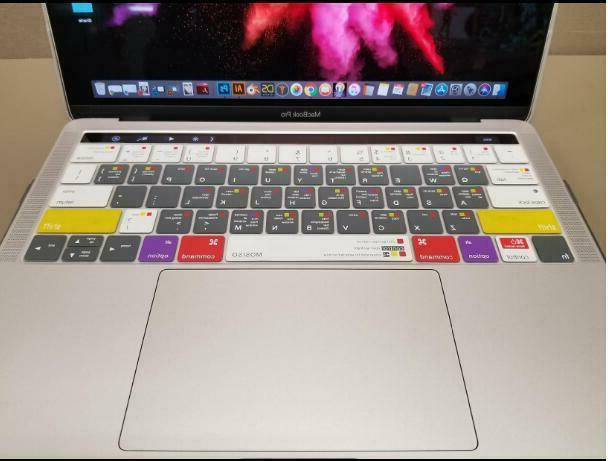 Silicone Macbook Pro 13 15 inch Touch , Mac OS X Shortcut
