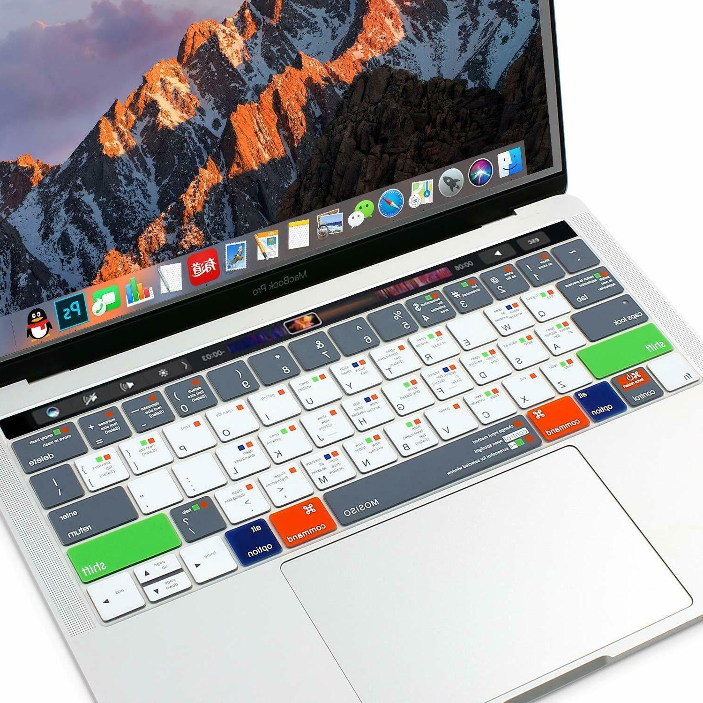 Silicone Macbook 15 inch Touch Bar , Mac Shortcut