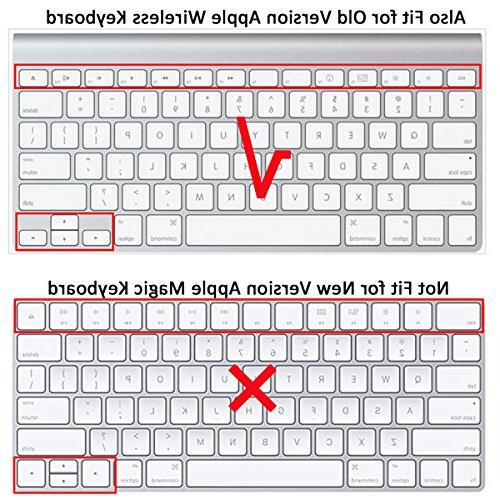 LENTION Keyboard Protector, Ultra Thin ,for Apple with Display and 13