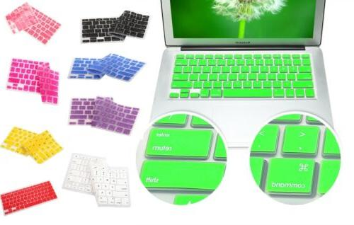 silicone keyboard cover skin apple macbook pro
